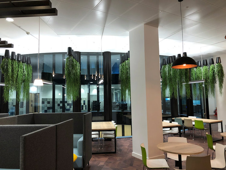 designed office space in Minster building London